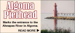 Algoma Pierhead Lighthouse Wisconsin